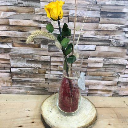 rose jaune eternelle
