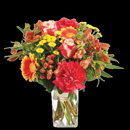 bouquet coloré