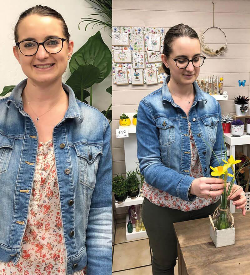 Alexia fleuriste Au Bouton d'Or