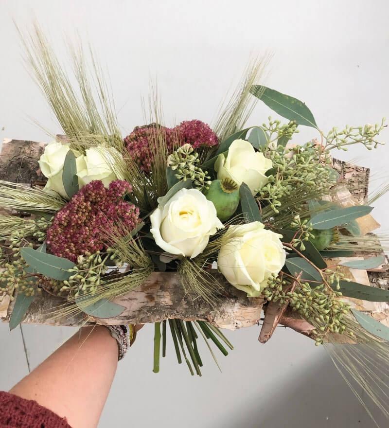 Création bouquets fleurs Au Bouton d'Or à Saint Juéry